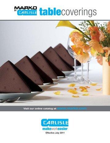 marko catalog 2011 - Carlisle Food Service Products
