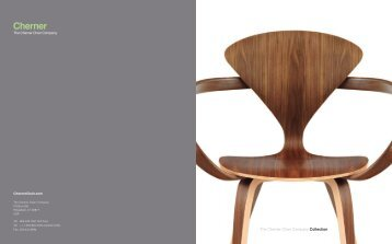 Catalog - Cherner Chair Company