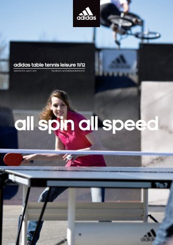 Download adidas table tennis leisure catalogue 2011/2012