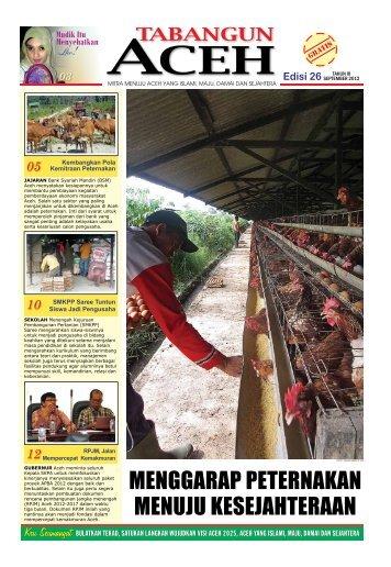 Tabloid Edisi 26 September 2012 - Bappeda Provinsi Aceh ...