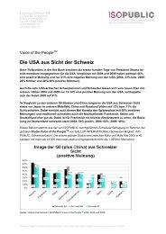 Die USA aus Sicht der Schweiz - Isopublic