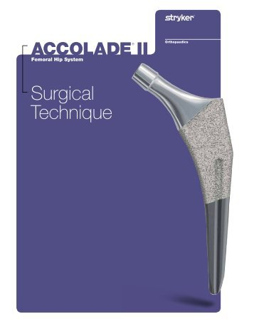 Accolade II Surgical Guide