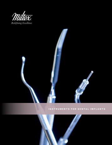 Hand Instruments for Dental Implants - Alpha Dental Supplies