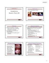 Thoracic Surgical Anatomy - VascularWeb