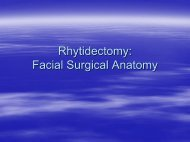 Facial Surgical Anatomy - UCLA Head and Neck Surgery