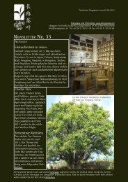 Newsletter Nr. 33 vom 01. Mai 2012 - Länggass-Tee