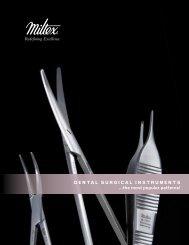 Dental Surgical inStrumentS ...the most popular ... - Integra Miltex