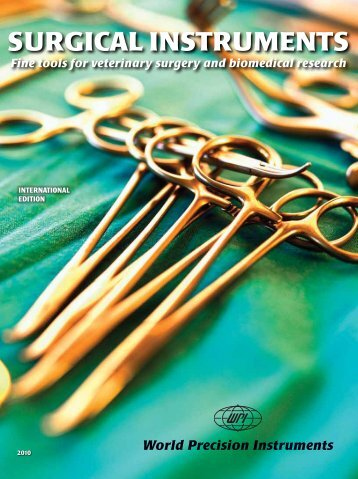 SURGICAL INSTRUMENTS - World Precision Instruments