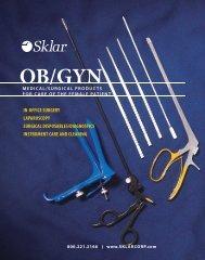 OB/GYN Catalog - Sklar Surgical Instruments