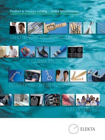 Intra-operatIve ImagIng Stereotactic NeuroSurgery ELEKTA ... - Rta