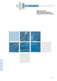 35 - Micro Surgical Instruments - SCHREIBER GmbH