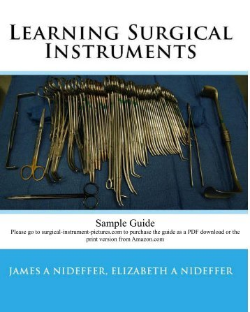 Sample Guide - Pictures of Surgical Instruments