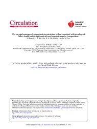 The Surgical Anatomy of Common Atrioventricular ... - Circulation