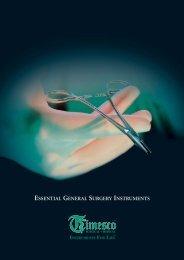 Essential General Instruments Brochure - Timesco