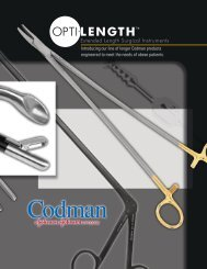 Extended Length Surgical Instruments - NW Medical