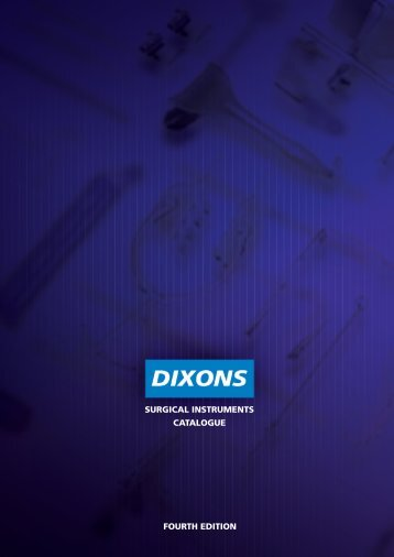 Index - Numeric - Dixons Surgical Instruments