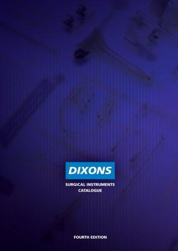 Index - Numeric - Dixons Surgical Instruments