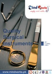 Surgical Instruments Catalogue - Mind Works (Private) Limited.