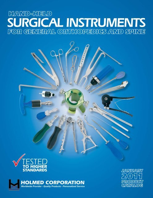 SURGICAL INSTRUMENTS - Holmed Corporation