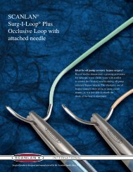 SCANLAN® Surg-I-Loop® Plus Occlusive Loop with attached needle