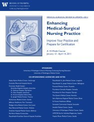 Enhancing Medical-Surgical Nursing Practice - Uwcne.org