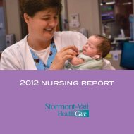 2012 Nursing Annual Report - Stormont-Vail HealthCare