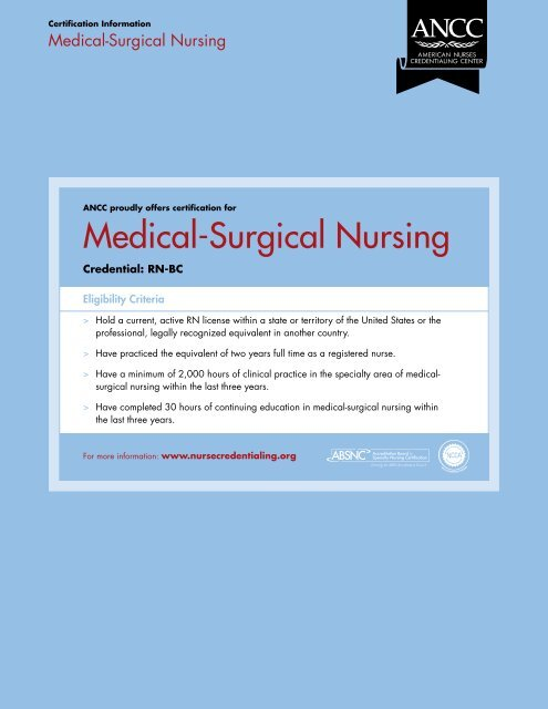Learn These Ancc Nursing Continuing Education {Swypeout}