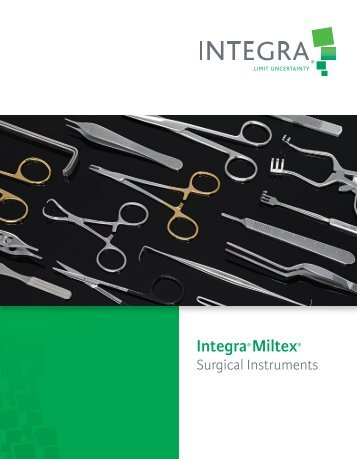Surgical Catalog (33 MB) - Integra Miltex