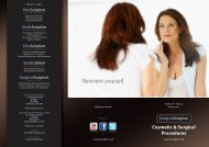 SurgicalScription Cosmetic & Surgical Procedures - Tracey Bell Clinic