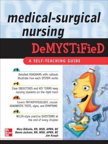 Medical-Surgical Nursing Demystified TREATMENT - DivShare