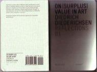 (Surplus) Value in Art - uncopy