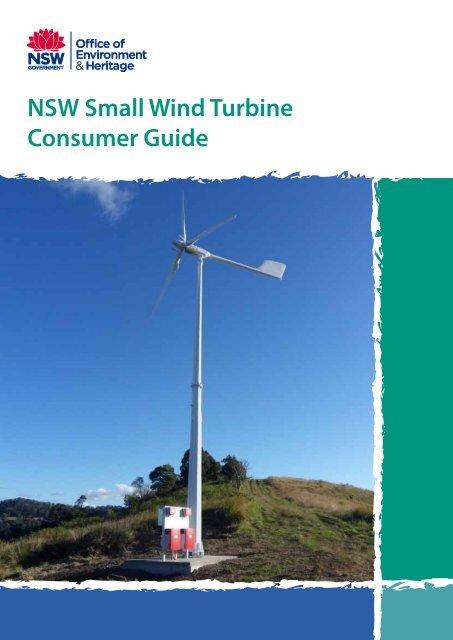 NSW Small Wind Turbine Consumer Guide - Department of