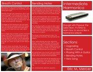 Harmonica Brochure - Eric M. Mercer