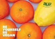 Be yourself be vegan e - Animal Liberation Victoria
