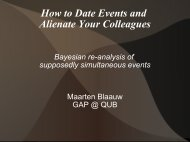 How to Date Events and Alienate Your Colleagues