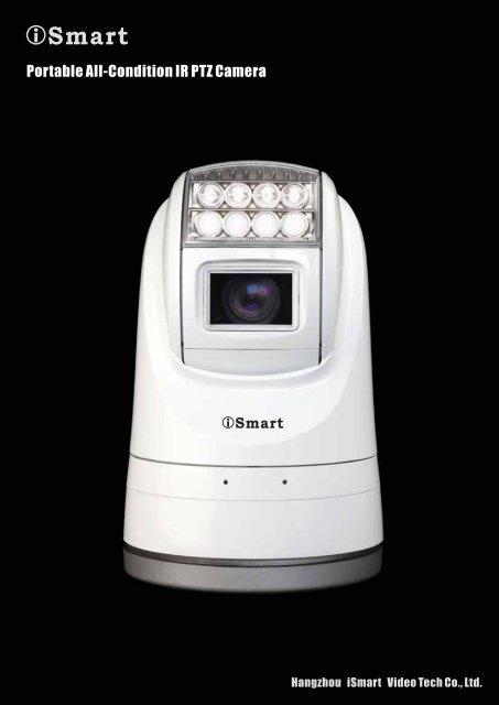 Portable All-Condition IR PTZ Camera - Ifsec
