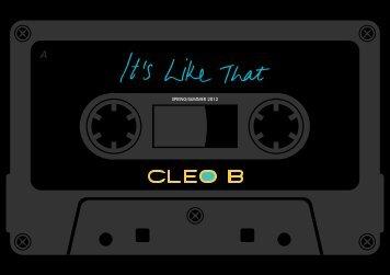 SPRING/SUMMER 2012 - Cleo B