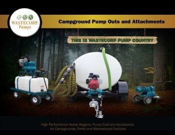 Campground Pump Outs And Attachments - Wastecorp Pumps