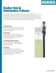 Sucker Rod & Connection Failures (T001-V01-052208 - Norris Rods