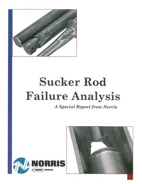 Sucker Rod Failure Analysis Brochure - Norris Rods