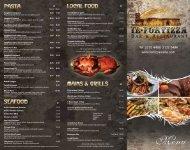 view menu - Fortizza Restaurant