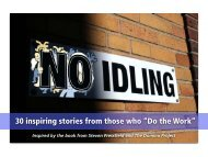 """30 inspiring stories from those who """"Do the Work"""""""