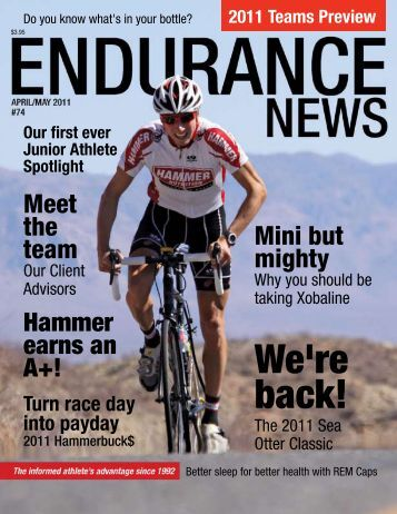 Endurance News Issue 74 - Hammer Nutrition