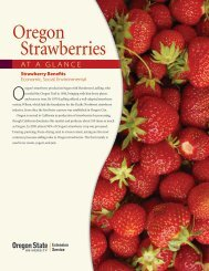 Strawberries - ScholarsArchive at Oregon State University