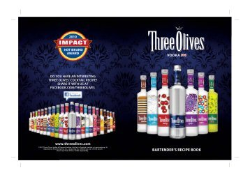 Download The PDF - Three Olives Vodka
