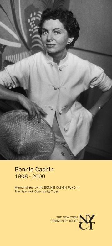 Bonnie Cashin - The New York Community Trust