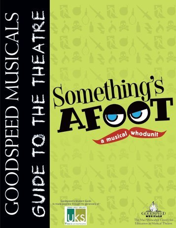 Student Guide - Goodspeed Musicals