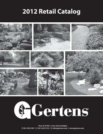 2012 Retail Catalog - Gertens