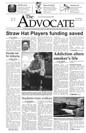 Straw Hat Players funding saved - Minnesota State University . a4a77b2e7d25