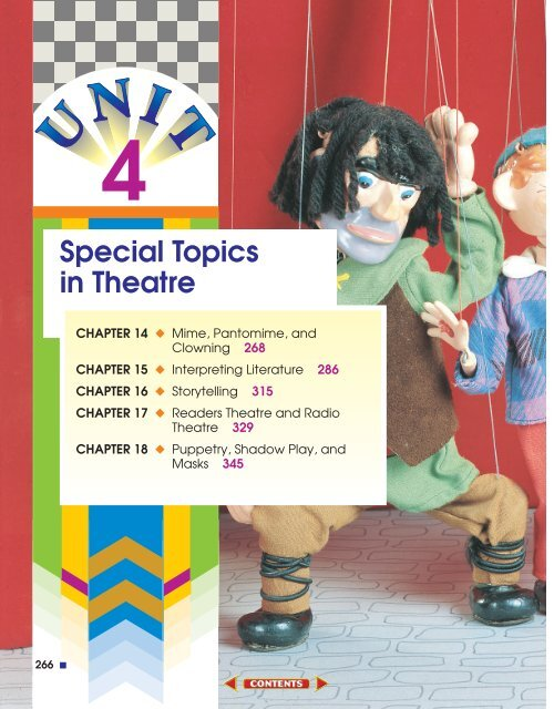 Chapter 14: Mime, Pantomime, and Clowning - Sharyland ISD